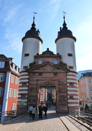 An old city gate!