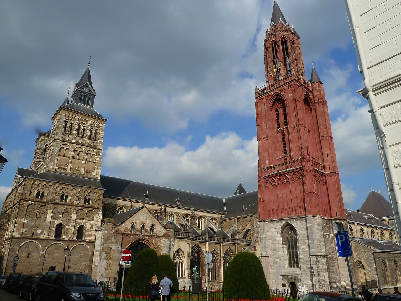 The cathedrals of Maastricht!