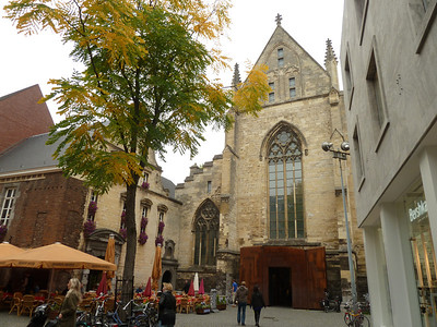 This old cathedral has been converted to an amazing bookstore!!