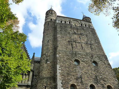 Basilika of Our Lady, a Romanesque church in Maastricht.