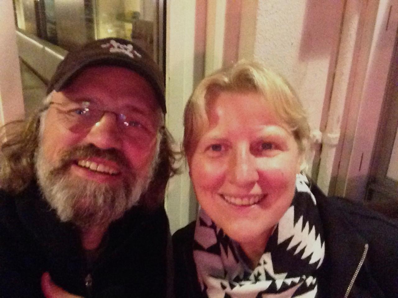 Still, a very happy couple!!