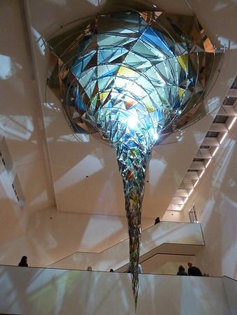 "In the newly reopened Lenbachhaus, museum of the ""Blaue Reiter"" art group (Klee, Marc, Kadinsky, etc)"