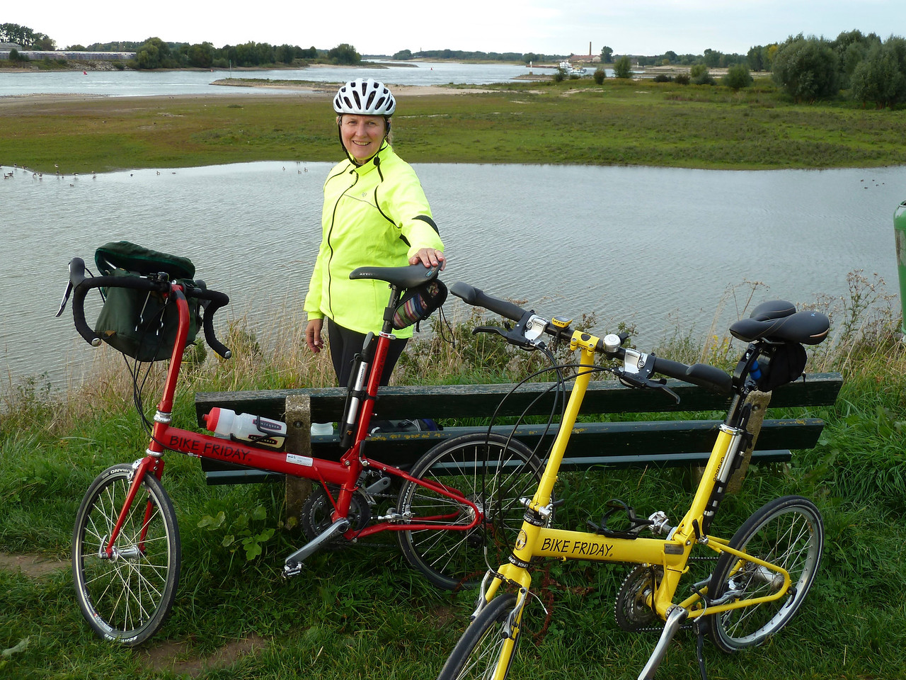 Another wonderful Bike Friday excursion outside of Nijmegen along the Rhein and its dykes.