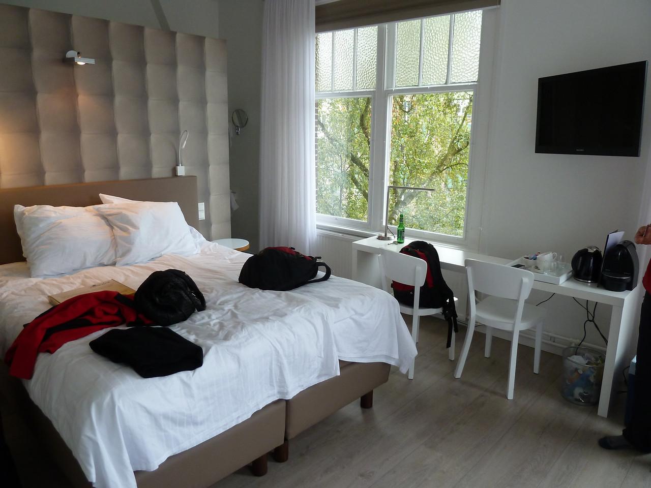 Our wonderful B B in Nijmegen - are real' treat!