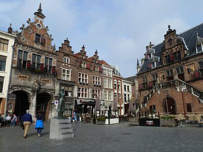 Nijmegen's Main Square.
