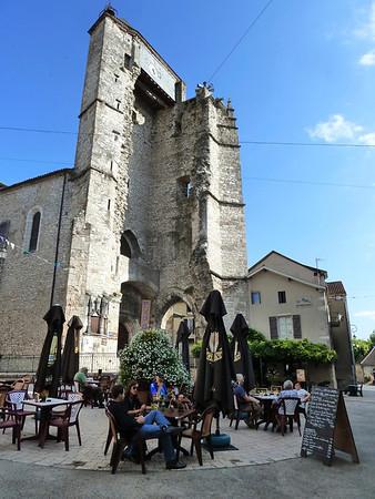 Souillac in the Dordogne - our biking destination from Sarlat!