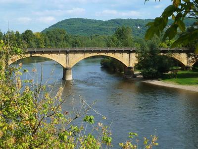 The Dordogne river!