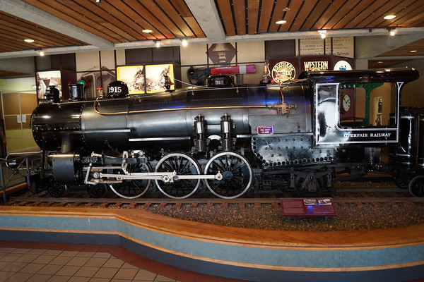 Sacramento Railroad Museum and American River Parkway
