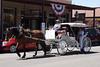 Horse drawn carriage, Sacramento Old Town.