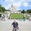 No photos allowed inside.  All the churches windows were broken by the concussion of WWII bombs, so all the glass now is post 1945.  You can climb up 260ft. (300 steps) for an unobstructed panoramic view of Paris to the top of the dome.