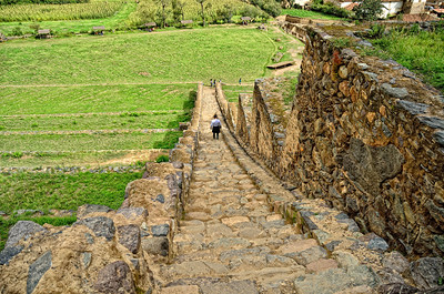 """The heights charm us, but the steps do not; with the mountain in our view we love to walk the plains"" - Johann Wolfgang Van Goethe Sacred Valley Ollantaytambo"