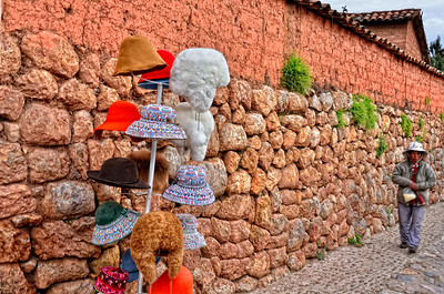 Hat anyone? Chincero Sacred Valley