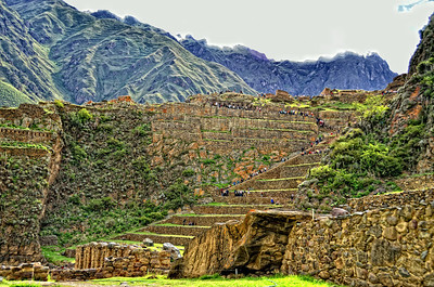 """The heights charm us, but the steps do not; with the mountain in our view we love to walk the plains"" - Johann Wolfgang Van Goethe Sacred Valley Ollantaytambo, Peru"