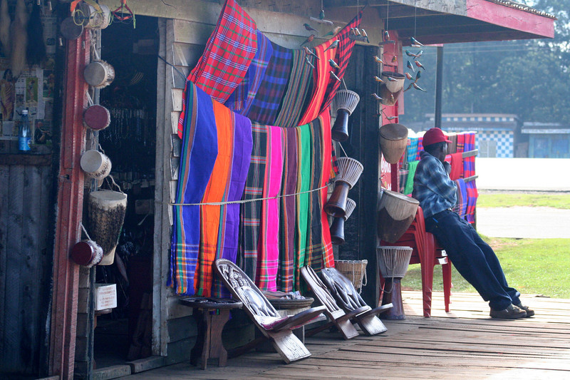 One of the many roadside boutiques catering to tourists on the way to Nakuru from Nairobi