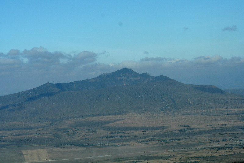 Rift Valley seen from the road to Nakuru