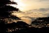 Sunset at Ndutu lodge