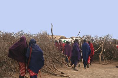 Visits to Maasai Villages ( 2008 Tanzania and 2006- Kenya)