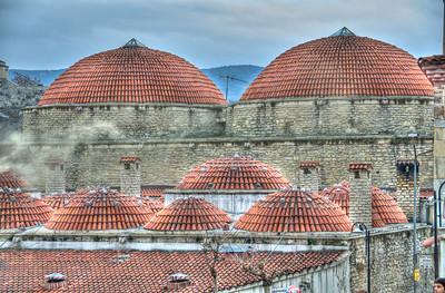 Bath and mosque in Safranbolu