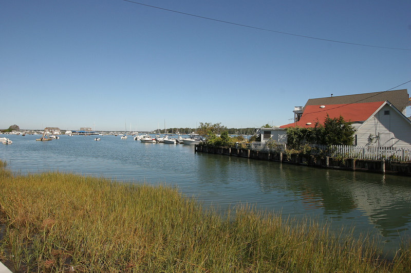 Shelter Island is best discribed as a sleepy New England village.