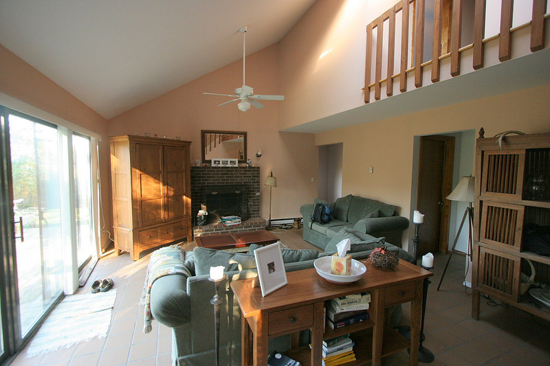 The main living area