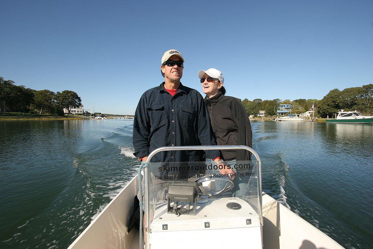 We started our boating adventure from Sag harbor and planed on circumnavigating Shelter Island.