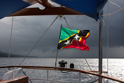 St. Kitt's and Nevis's flag