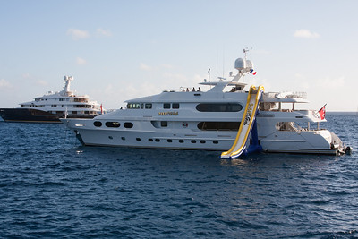 Party Girl Super Yacht St. Barts