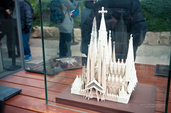 Sagrada Familia, Barcelona (jan 5th, 2012)