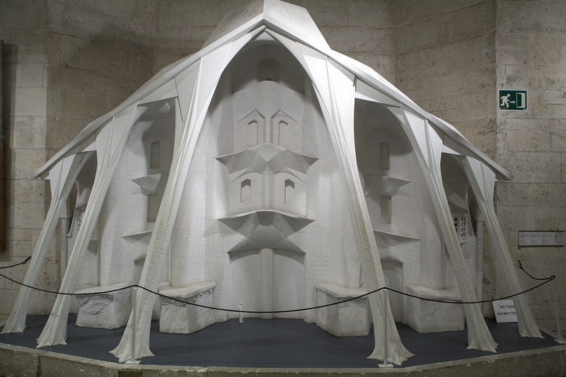 One of the models used by Gaudi as a test.