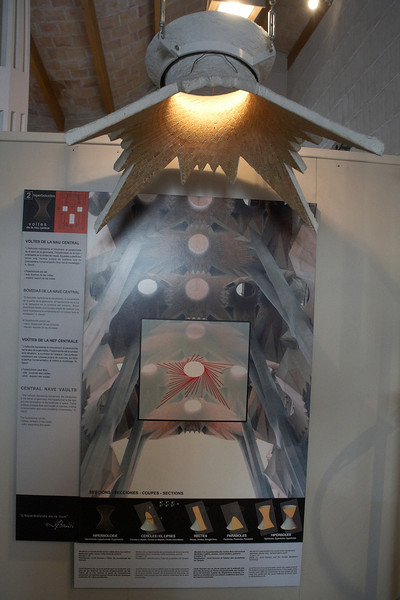 One of the models inside the school.