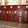 Phone booths (now ATM booths) inside the old post office