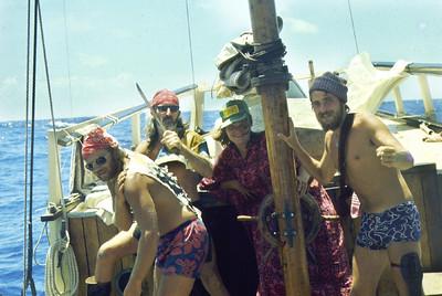 Sailboat 1970s