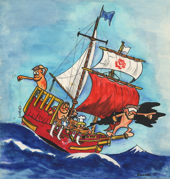 Christian Rose of Salem.  Cruising the ocean on low budget.
