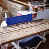 The new nameplates, and well stocked for the downwind journey, <br /> St Francis stop-over, San Francisco