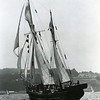 """The Lene Marie, just off Ft Mason. She was a 110 ft. Danish-built Baltic trader, <br /> built in 1910 or so. She had been up and down the west coast <br /> many times by the time I crewed on her. She had a colorful history, part of <br /> which can be found here: <a href=""""http://en.wikipedia.org/wiki/Lene_Marie"""">http://en.wikipedia.org/wiki/Lene_Marie</a>"""