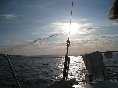 Sailing - Elliot Bay,  Washington State 08/2008