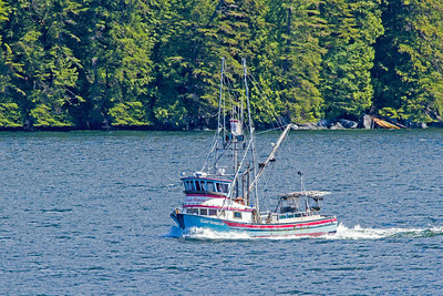 Another fishing boat on the west coast