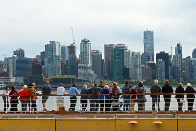 Looking at City of Vancouver onboard Holland America's Vollendam