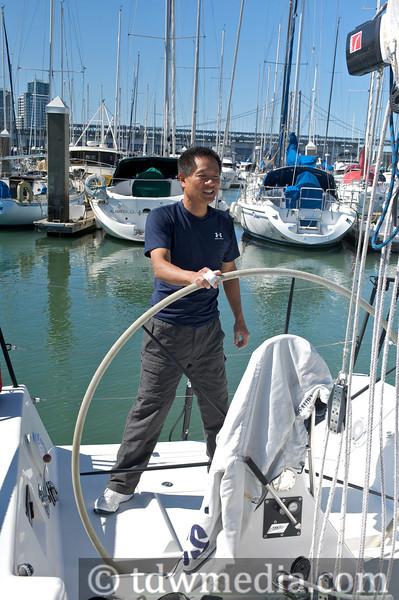 Sailing the Aeolus 6-20-13