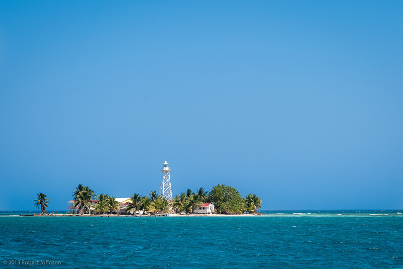 English Caye Lighthouse