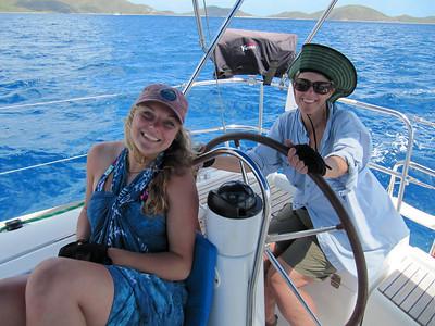 Sailing BVI May 2013