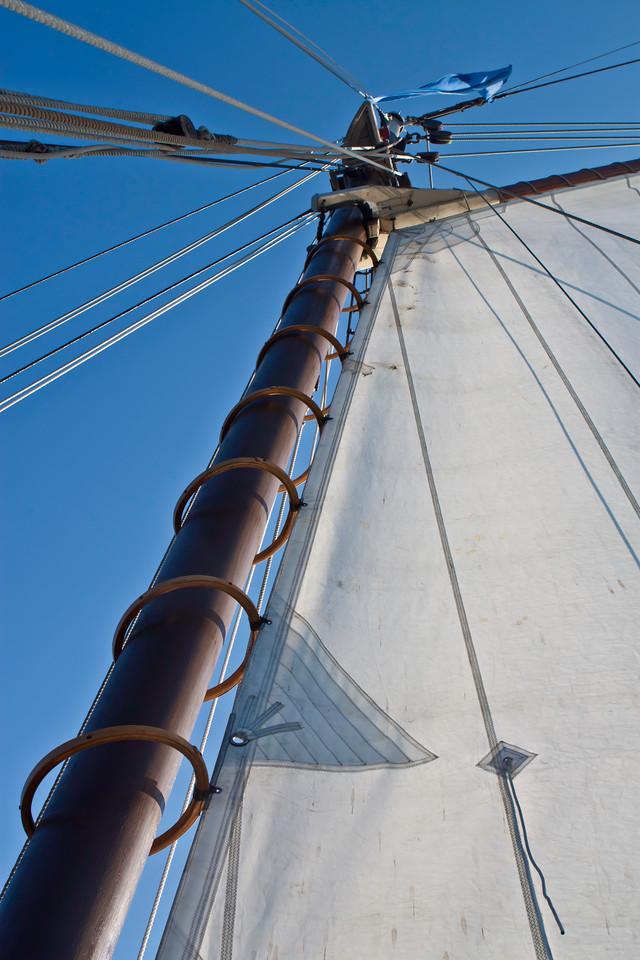 Sails, Mystic, Connecticut, June 2010