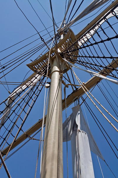 Sails, Mystic, Connecticut, June 2010