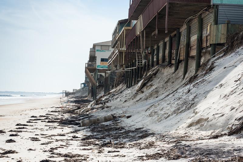 Vilano beach houses - no beach!