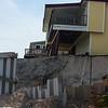 Sea wall fail