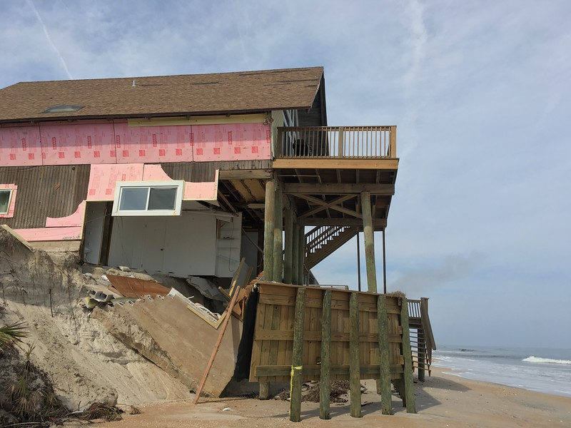 Beaches move, houses don't.