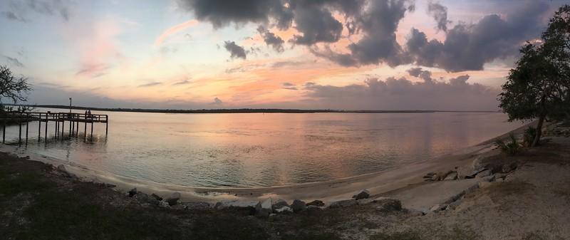 Vilano Beach sunset
