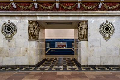 Narvskaya metro station