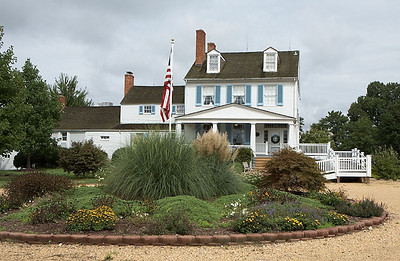 The Brome-Howard Inn from its drive way.