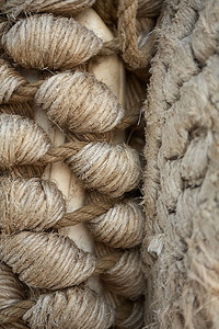 Rope texture.